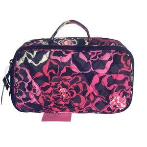 Blush & Brush Makeup Case in Katalina Pink